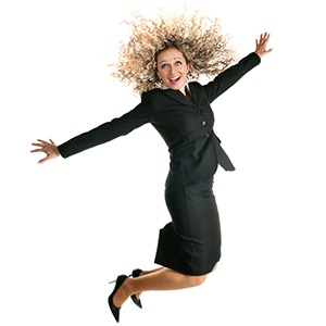 jump for Joy first day on job be engaged